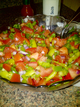 Pico De Gallo Recipe / Salvadorean Chimol
